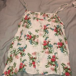 Flowy flowery Manito tank top